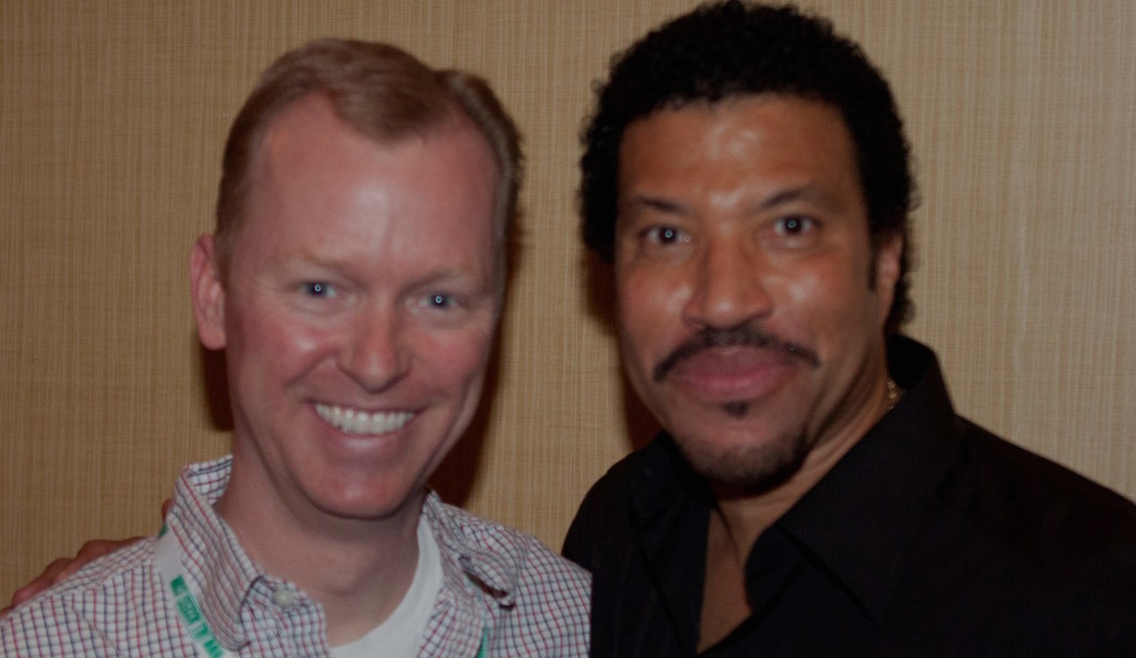 Lionel Ritchie is a class act and every bit of a gentleman you would hope he would be.