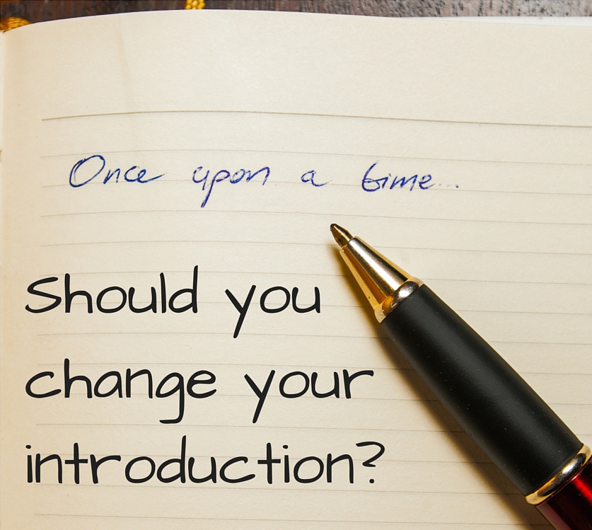 Should you change your introduction?