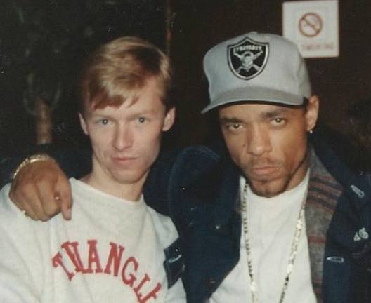 "Hangin' with Ice-T ""back in the day"" - circa 1989"