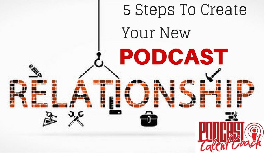 Create new podcast connections and relationships